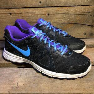 Nike Revolution 2 Black Running Shoes